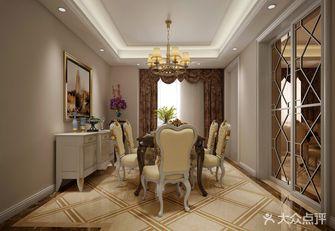20万以上140平米四室两厅欧式风格餐厅图