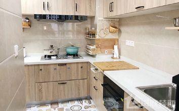 15-20万90平米三室一厅北欧风格厨房欣赏图