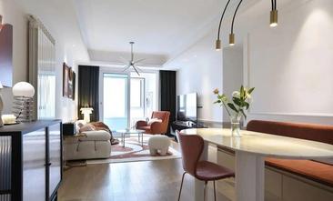 3-5万90平米三室一厅新古典风格客厅欣赏图