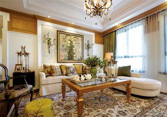 富裕型60平米一室一厅美式风格客厅效果图