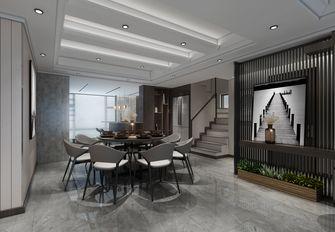 140平米现代简约风格餐厅图