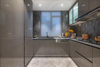 豪华型140平米三室两厅法式风格厨房装修图片大全
