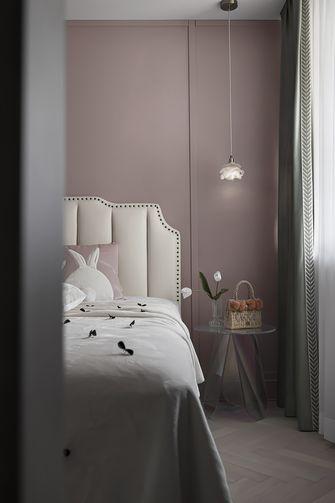 豪华型130平米三室两厅英伦风格青少年房装修图片大全
