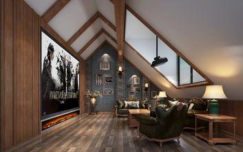 豪华型140平米别墅英伦风格影音室装修图片大全