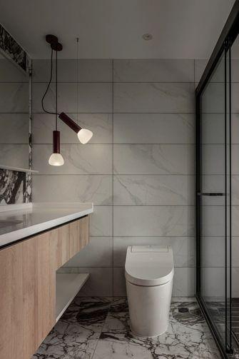 经济型130平米一室一厅现代简约风格卫生间欣赏图
