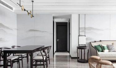 经济型100平米三室两厅中式风格餐厅图片大全