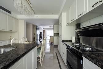 豪华型130平米三室两厅美式风格厨房装修图片大全