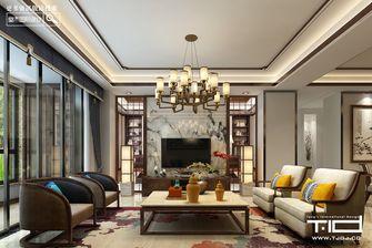 140平米四室三厅中式风格客厅装修效果图