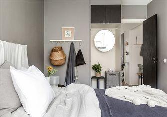 富裕型60平米公寓北欧风格卧室效果图