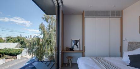140平米田园风格卧室图片大全