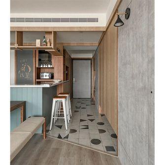富裕型110平米三室两厅日式风格走廊装修案例