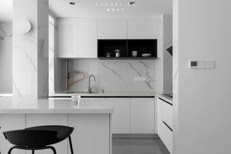 20万以上100平米三室两厅现代简约风格厨房图