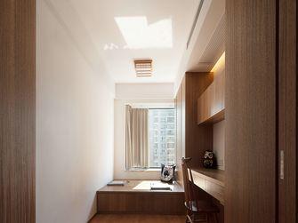 富裕型110平米三室两厅日式风格书房效果图
