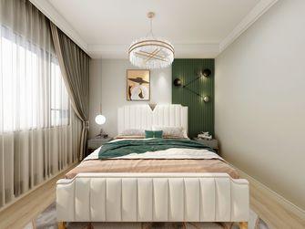 富裕型110平米四室四厅现代简约风格卧室图片