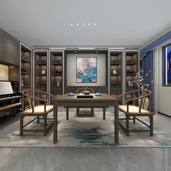 20万以上140平米复式中式风格书房图片大全