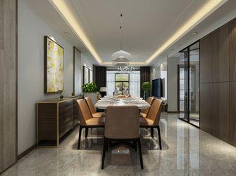 富裕型110平米三港式风格餐厅图