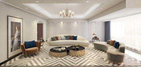 豪华型140平米四室两厅新古典风格客厅图片大全