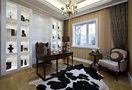140平米三欧式风格书房欣赏图