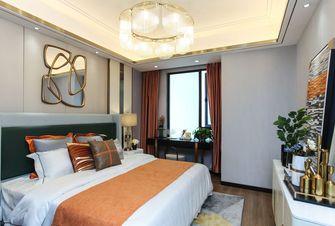 富裕型110平米三室两厅欧式风格卧室装修效果图
