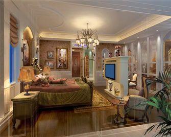 140平米三室一厅新古典风格卧室装修案例