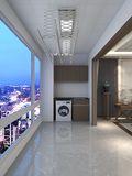 130平米三室两厅中式风格阳台图片大全