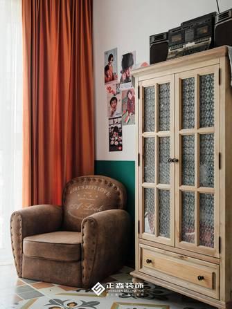 经济型三室两厅法式风格青少年房欣赏图