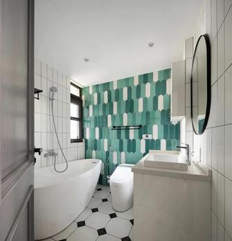 140平米四室一厅混搭风格卫生间设计图
