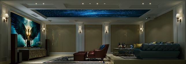 20万以上140平米法式风格影音室装修图片大全