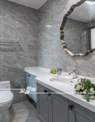 富裕型130平米三室两厅美式风格卫生间欣赏图