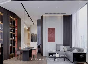 3-5万120平米现代简约风格客厅装修效果图