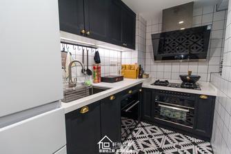 100平米三室一厅混搭风格厨房图片大全