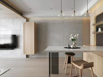 20万以上100平米三日式风格餐厅设计图