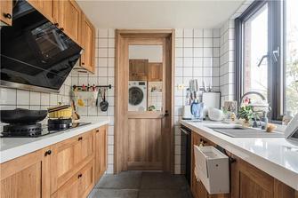 100平米三室一厅日式风格厨房装修案例