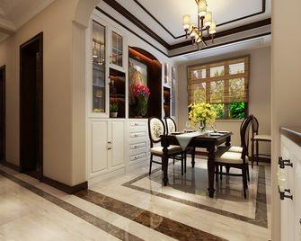 80平米一居室美式风格餐厅图