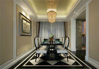 豪华型90平米三室一厅欧式风格餐厅设计图