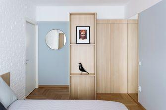 富裕型三室一厅北欧风格衣帽间图片大全