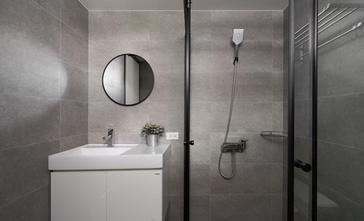 15-20万90平米三室两厅北欧风格卫生间欣赏图