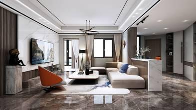 110平米三轻奢风格客厅设计图