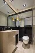 富裕型140平米别墅欧式风格卫生间装修效果图