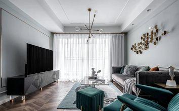 5-10万80平米三室一厅现代简约风格影音室装修图片大全