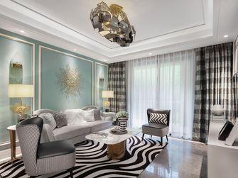经济型120平米三英伦风格客厅设计图