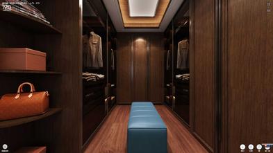 经济型140平米别墅中式风格衣帽间欣赏图