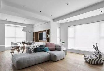 富裕型120平米三室两厅日式风格客厅效果图