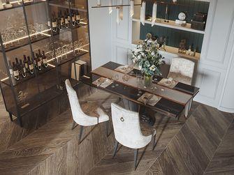 富裕型130平米三美式风格餐厅设计图