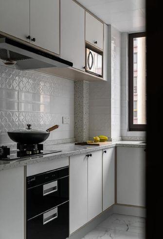 富裕型110平米三室两厅中式风格厨房欣赏图
