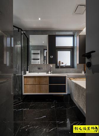 10-15万140平米三室两厅北欧风格卫生间效果图
