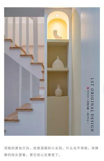 15-20万110平米复式日式风格楼梯间装修效果图
