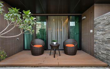 15-20万100平米三室两厅现代简约风格阳台欣赏图