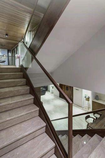 20万以上140平米别墅现代简约风格楼梯间装修图片大全