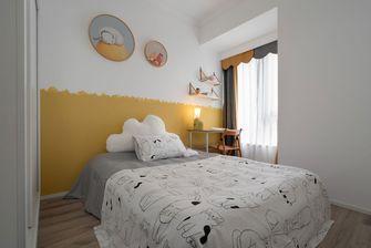 经济型90平米三室三厅北欧风格青少年房装修图片大全